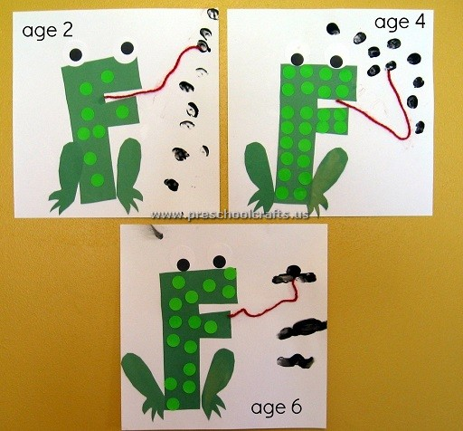 Letter F Frog Craft Ideas For Kids