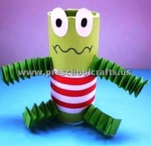 accordion animals craft ideas for preschool