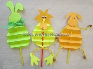 accordion animals crafts for preschool