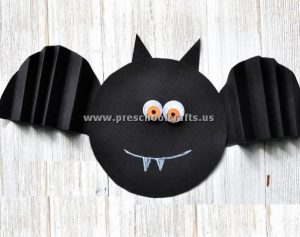 accordion bat crafts for kids