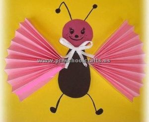 accordion butterfly craft ideas for kids