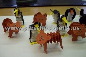 accordion dog craft ideas for kids