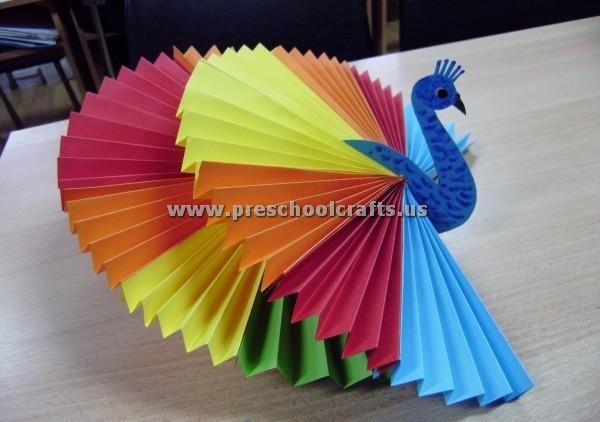 Accordion Paper Craft Ideas For Kids Preschool Crafts