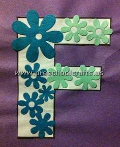 alphabet letter f craft ideas for preschool