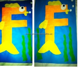 capital letter f craft ideas for kids