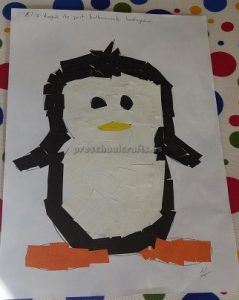 Crafts To Penguin For Preschool