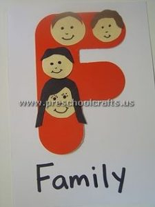 family letter f craft ideas for kids