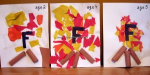fire letter f crafts for preschool