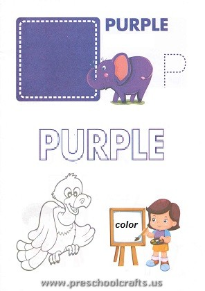 Free Printable Colors Worksheets For Kids Preschool And