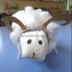 sheep craft idea for preschool