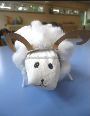 Sheep Craft Ideas for Kids Preschool