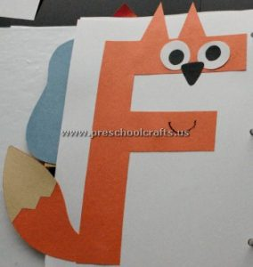 uppercase letter f craft ideas for preschoolers