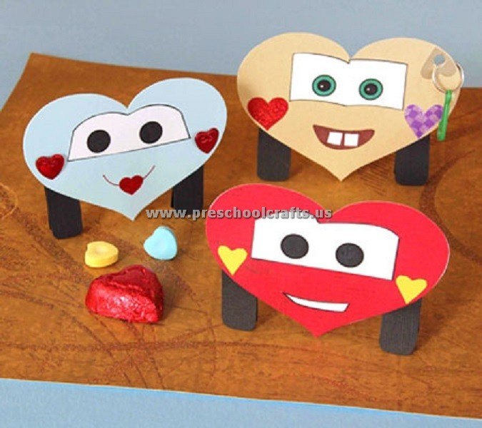 Valentine crafts preschool preschool crafts for Valentines crafts for kindergarten