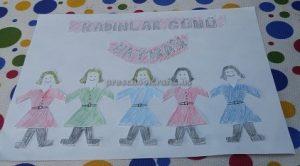 Celebrating International Women's Day Craft idea