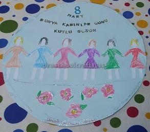 International Womens Day Crafts Kids