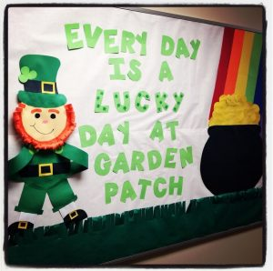 Every day is a lucky day at garden patch