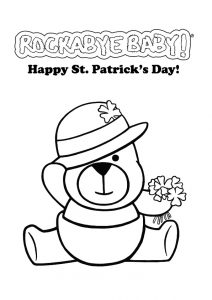 Great St. Patrick's Day coloring pages for preschool