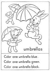 Happy Easter Bunny Worksheet for Kindergarten