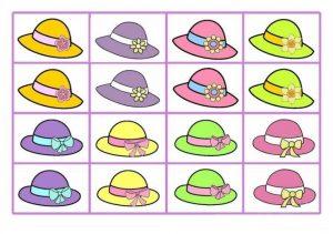 Happy Easter Hat Worksheet for Kindergarten