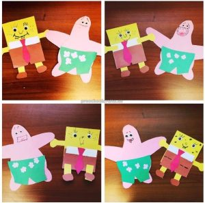 Happy St. Patrick's Day Rainbow craft ideas for preschoolers