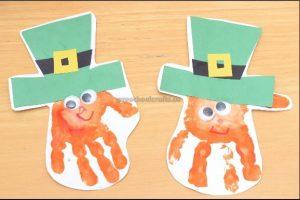 Happy St. Patrick's Day craft ideas for preschool