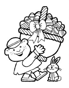 Holiday Coloring Pages related to easter