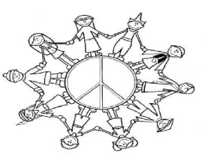 International Day for the Elimination of Racial Discrimination coloring pages for preschool
