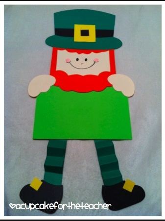 St Patrick 39 s Day Leprechaun Craft