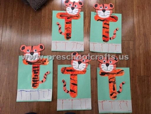 Letters Crafts for Preschoolers