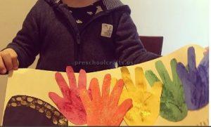 St. Patrick's Day Rainbow craft ideas for preschoolers