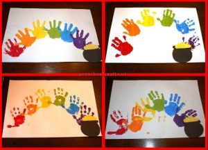 St. Patrick's Day craft ideas for pre-school