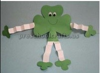 St. Patrick's Day craft ideas for pre-schoolers