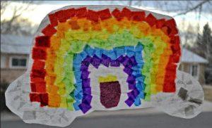St. Patrick's Day craft ideas for preschool rainbow