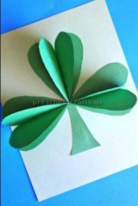 St. Patrick's Day paper craft ideas for preschool