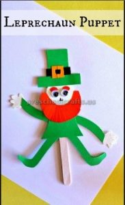 St. Patrick's Day puppet craft ideas for preschool