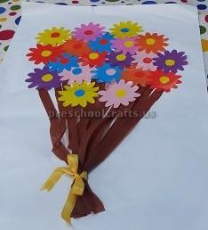 Women's Day Craft Idea for Pre school