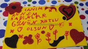 Women's Day Craft Idea for Preschool