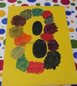 Womens Day Craft Idea for Preschool