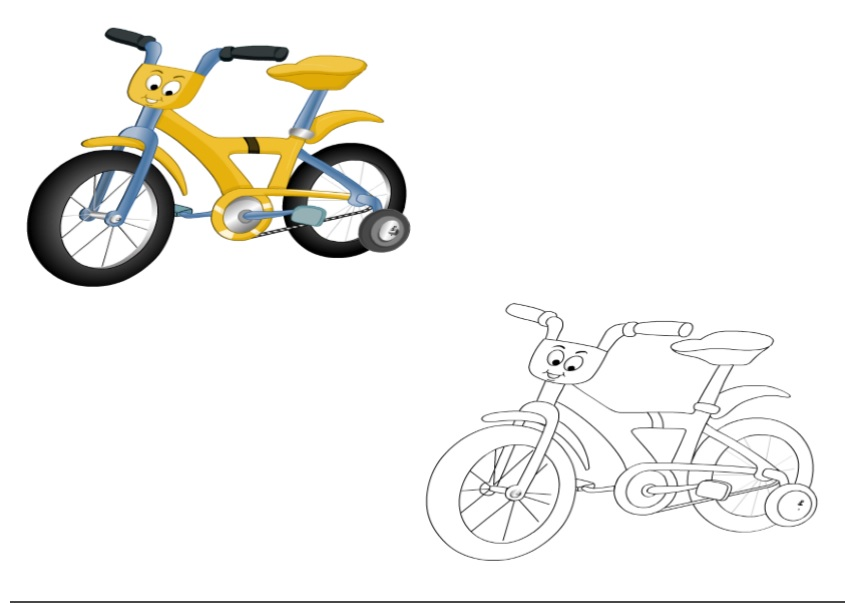 Land Transportation Coloring Pages for Kids - Preschool and Kindergarten