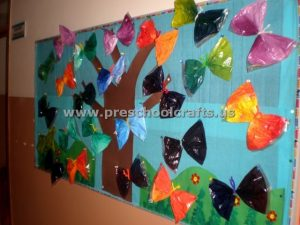 butterfly spring bulletin board ideas