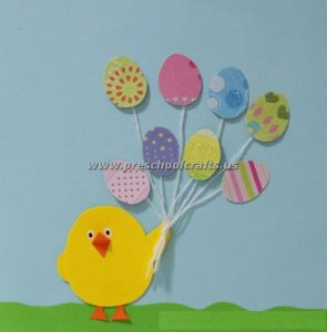chick crafts for easter