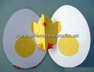 chick easter kids crafts
