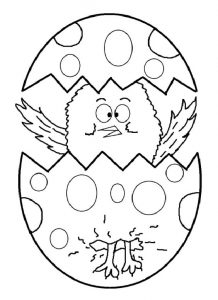 coloring pages related to happy easter