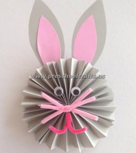 easter accordion bunny crafts