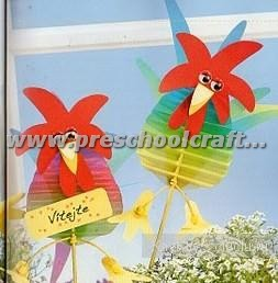 easter accordion paper craft ideas for kids