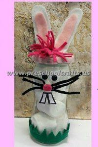 easter bottle bunny craft ideas