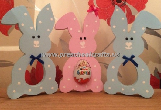 easter bunny crafts for kids preschool and kindergarten