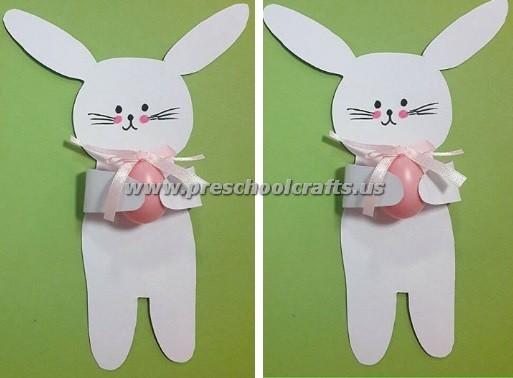 Easter Bunny Crafts For Kindergarten
