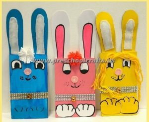 easter bunny kids crafts