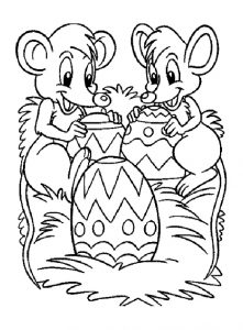 easter celebrate coloring pages
